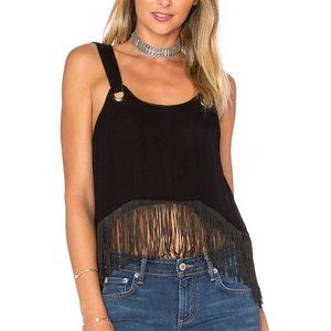 FREE PEOPLE Midnight Moves Top in Black - M